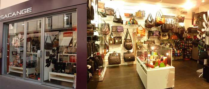 La boutique Sacange